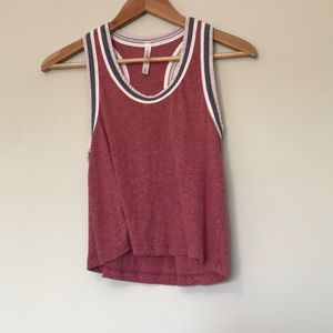 {aeropostale} Red White Blue Tank Top